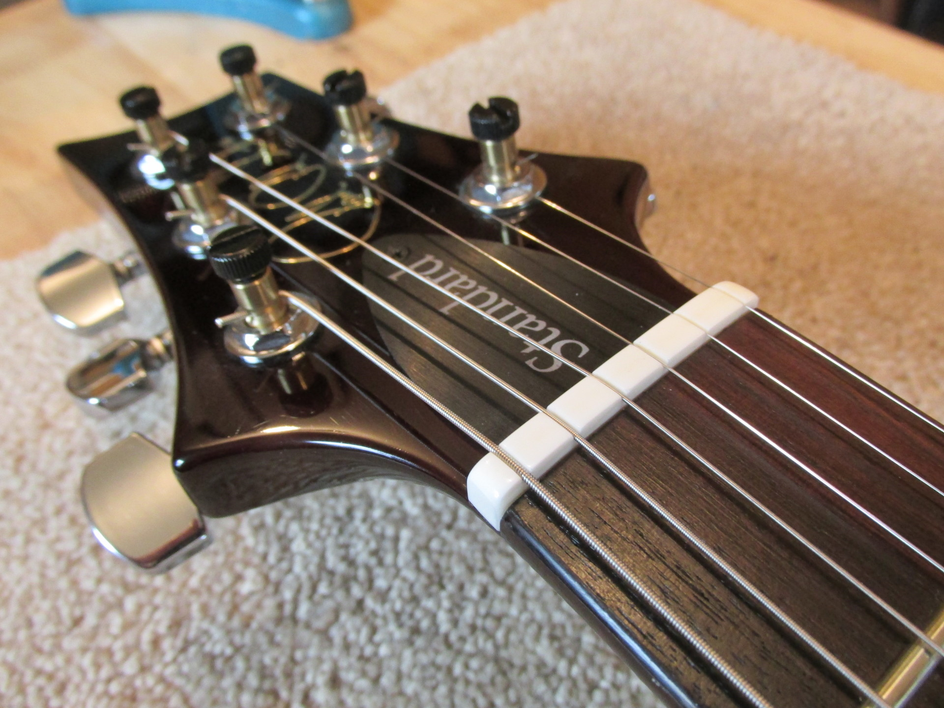PRS nut replacement by The Fret Shack
