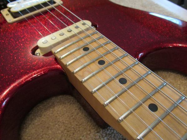 Custom ESP strat refret by The Fret Shack